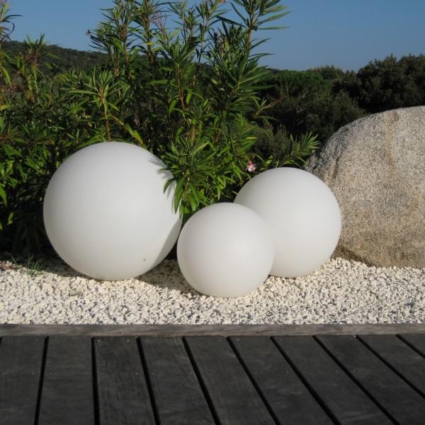 Boule lumineuse led filaire PATIO 50 CM-Deco Lumineuse