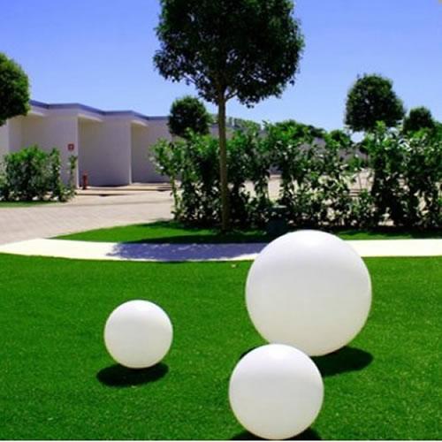 Boule lumineuse led filaire patio 80 cm deco lumineuse - Decoration lumineuse exterieur ...