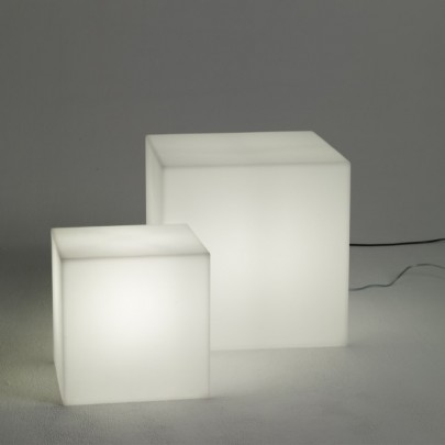 Cubes Lumineux Led Sans Fil Nirvana 20cm Deco Lumineuse