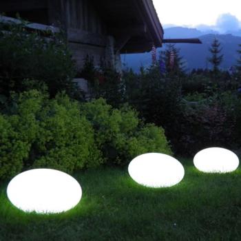 galet lumineux led sans fil apollo deco lumineuse. Black Bedroom Furniture Sets. Home Design Ideas
