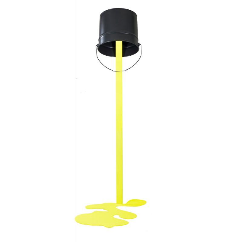 lampadaire led design grisjaune OUPS!