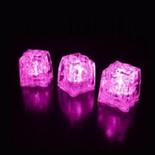 glacon lumineux led rose vendu sur www.deco-lumineuse.fr