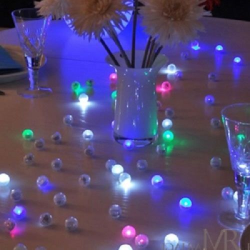 Perles lumineuses leds fairy berries pack de 12 deco lumineuse for Decoration lumineuse