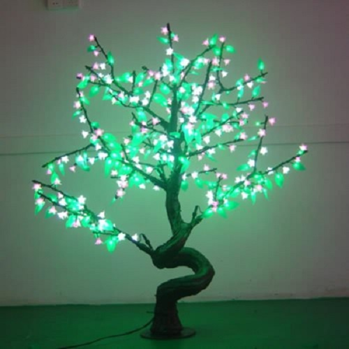Arbre lumineux led bonsai 384 leds deco lumineuse - Arbre lumineux led exterieur ...