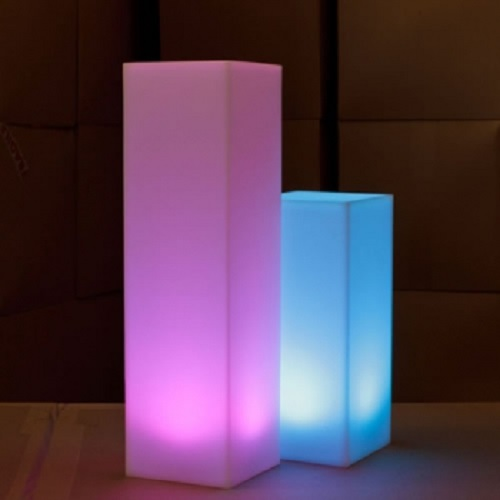 colonne lumineuse led sans fil podium deco lumineuse. Black Bedroom Furniture Sets. Home Design Ideas