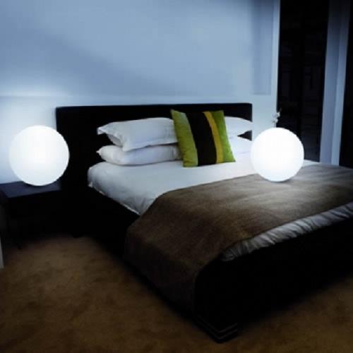 boule lumineuse led filaire patio 40 cm deco lumineuse. Black Bedroom Furniture Sets. Home Design Ideas