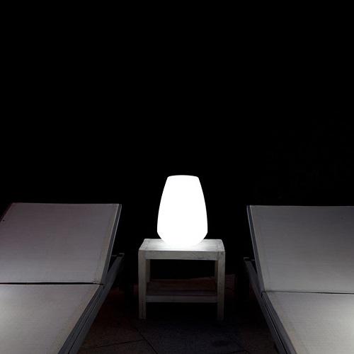 lampe led sans fil lanterne deco lumineuse. Black Bedroom Furniture Sets. Home Design Ideas