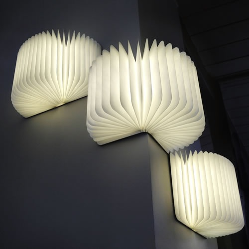 lampe led livre decoration led deco lumineuse. Black Bedroom Furniture Sets. Home Design Ideas