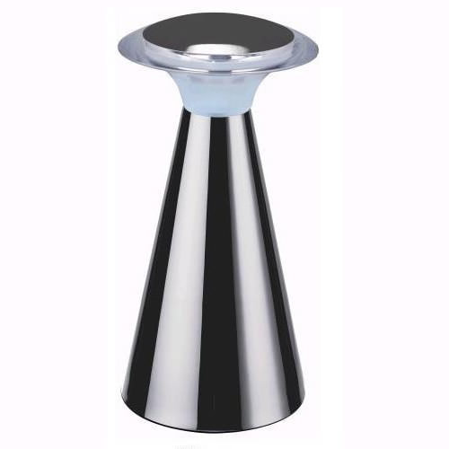 lampe led bumper piles chrome deco lumineuse. Black Bedroom Furniture Sets. Home Design Ideas