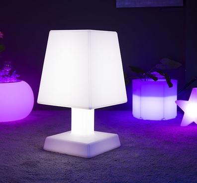 lampe led sans fil aba square xl deco lumineuse. Black Bedroom Furniture Sets. Home Design Ideas