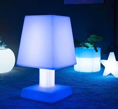 lampe led sans fil aba square xl deco lumineuse. Black Bedroom Furniture Sets. Home Design Ideas