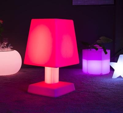 lampe led sans fil aba xl rouge