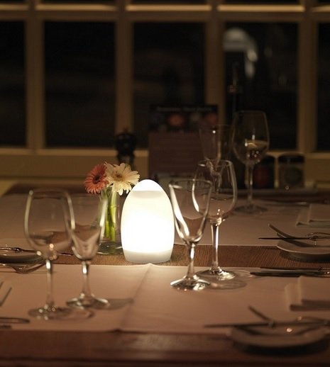 Centre de table led design romee deco lumineuse - Centre de table design ...