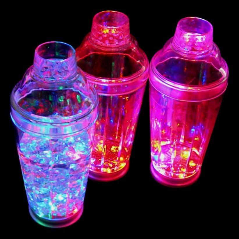shaker-lumineux led cocktail