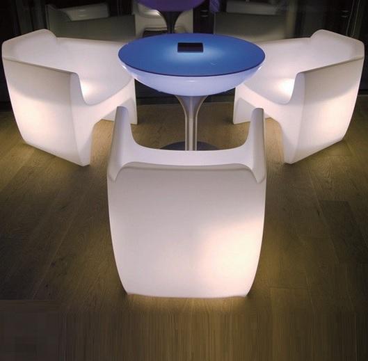 fauteuil lumineux led design translation
