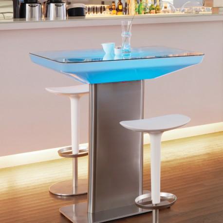 studio-led-pro-105-table-haute-lumineuse-rectangle-moree vendue sur deco-lumineuse.fr