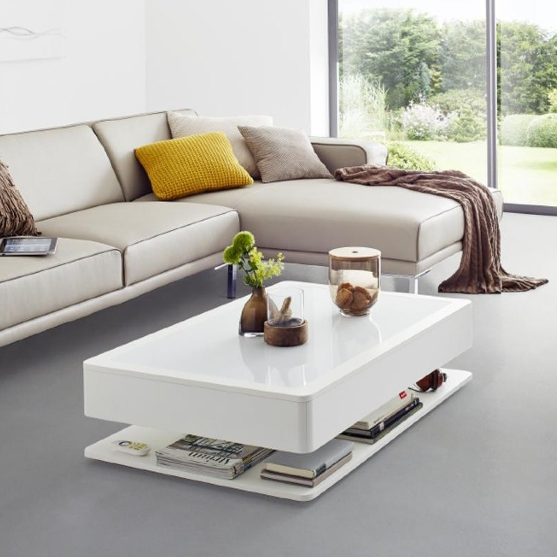 table basse led lumineuse design rvb ORA HOME vendue sur deco-lumineuse.fr