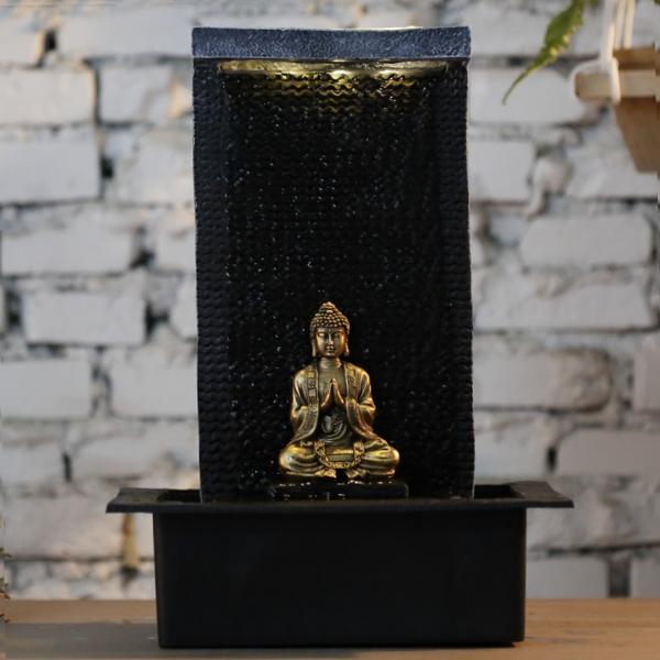 fontaine led bouddha interieur zenitude vendue sur deco-lumineuse.fr