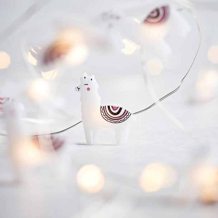 Guirlande Lumineuse led micro led Lama à 20 Micro LED vendue sur deco-lumineuse.fr