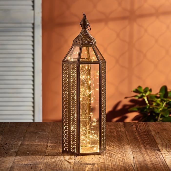 guirlande led micro led lanterne ASILAH 2 vendue sur deco-lumineuse.fr