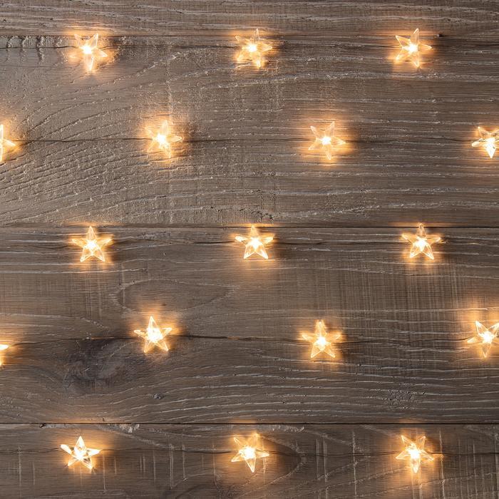 guirlandes lumineuse led 50 micro led etoiles vendue sur deco-lumineuse.fr