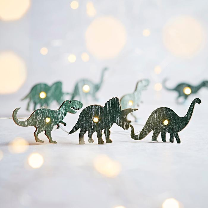 guirlande lumineuse led led 20 micro led dinosaures vendue sur deco-lumineuse.fr
