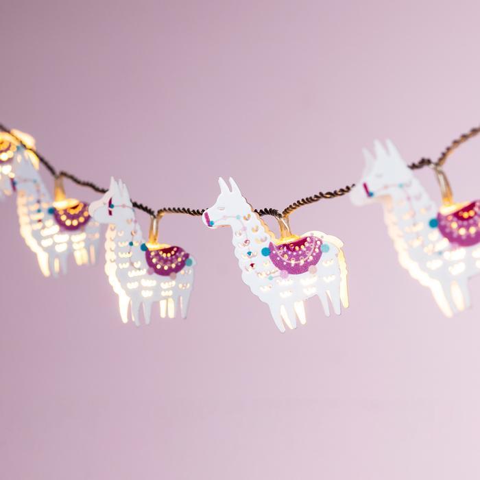 guirlande lumineuse led 10 led lama del rey vendue sur deco-lumineuse.fr