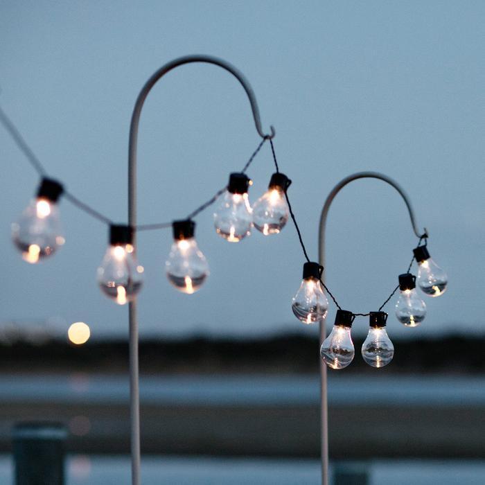 guirlande lumineuse guinguette solaire 20 ampoules vendue sur deco-lumineuse.fr