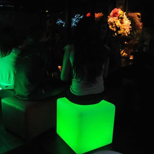 cube lumineux led sans fil opalia 40 deco lumineuse. Black Bedroom Furniture Sets. Home Design Ideas