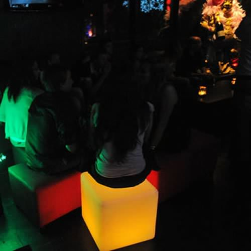 cube lumineux led sans fil opalia deco lumineuse. Black Bedroom Furniture Sets. Home Design Ideas