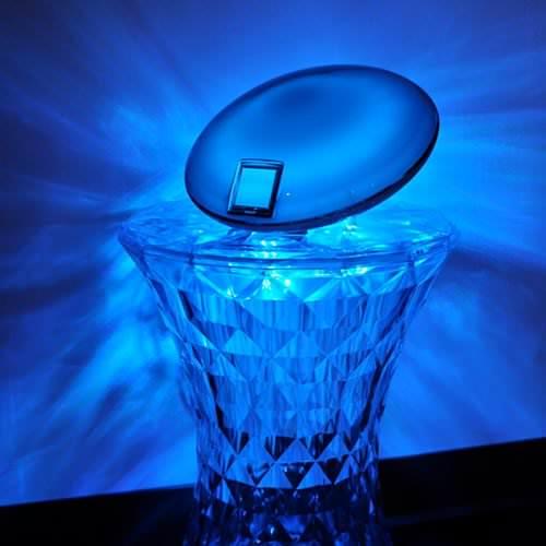 lampe led jellyfish deco lumineuse. Black Bedroom Furniture Sets. Home Design Ideas