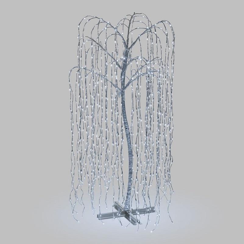 arbre led lumineux pour exterieur saule pleureur  2M 1024 LEDs vendu sur deco-lumineuse.fr