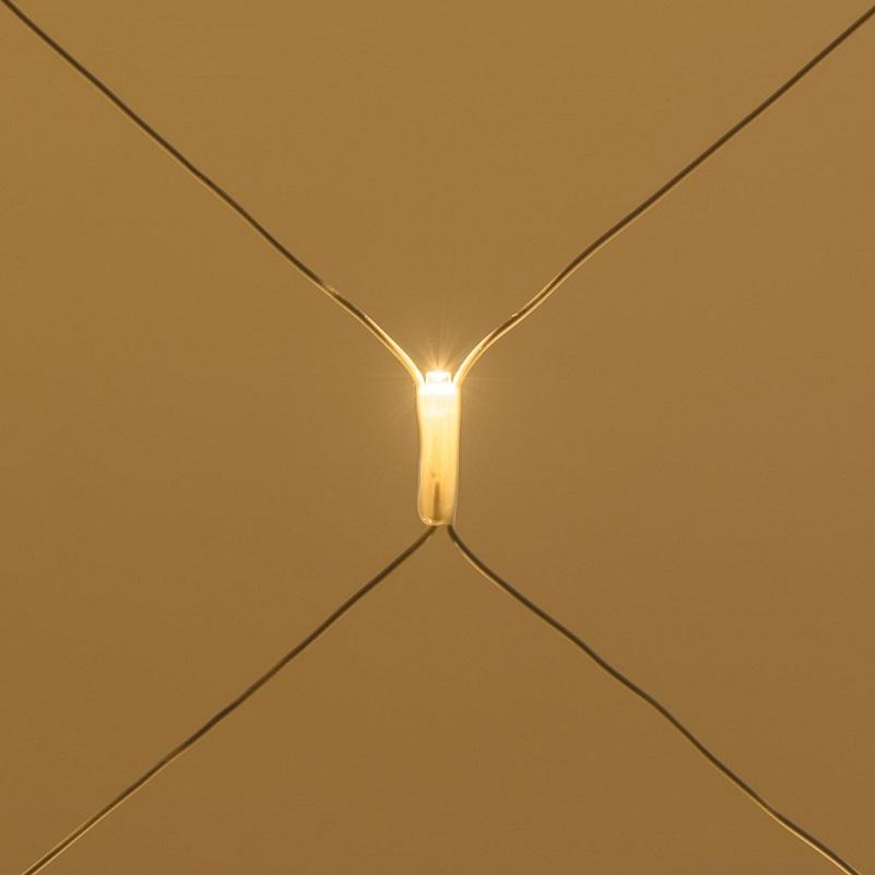 filet lumineux exterieur hauteur 1 M largeur 4 M 240 led blanc chaud vendu sur deco-lumineuse.fr