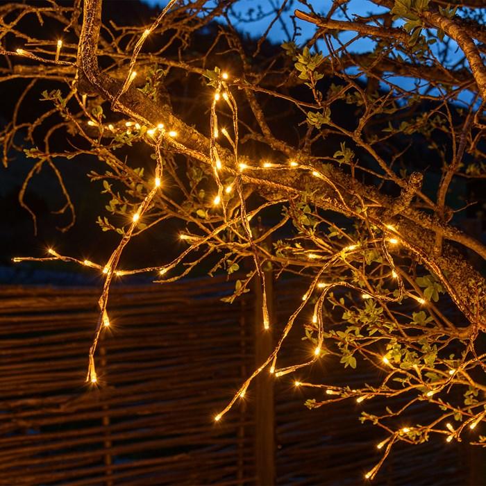 branche led de noël cuivre 3M 288 led blanc chaud vendue sur deco-lumineuse.fr