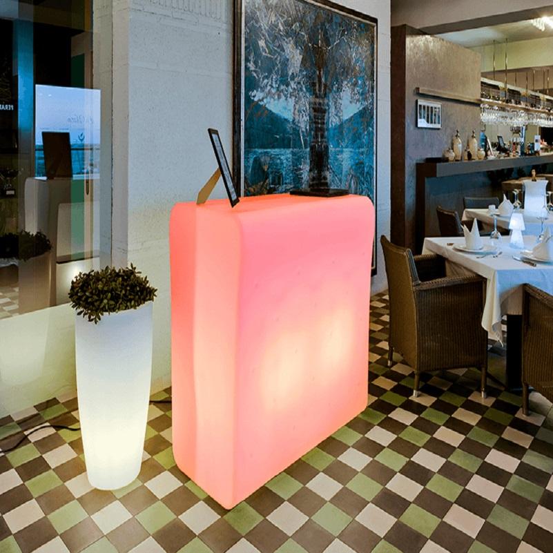 bar lumineux led design intérieur exterieur CRETA vendus sur deco-lumineuse.fr