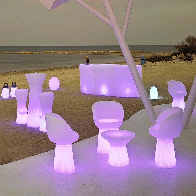 bar led lumineux design pour exterieur ou interieur Ibiza 120cm vendu sur deco-lumineuse.fr