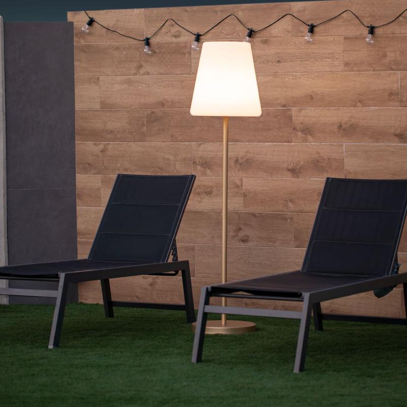 lampadaire sans fil exterieur rechargeable lola slim 180 vendu sur deco-lumineuse.fr