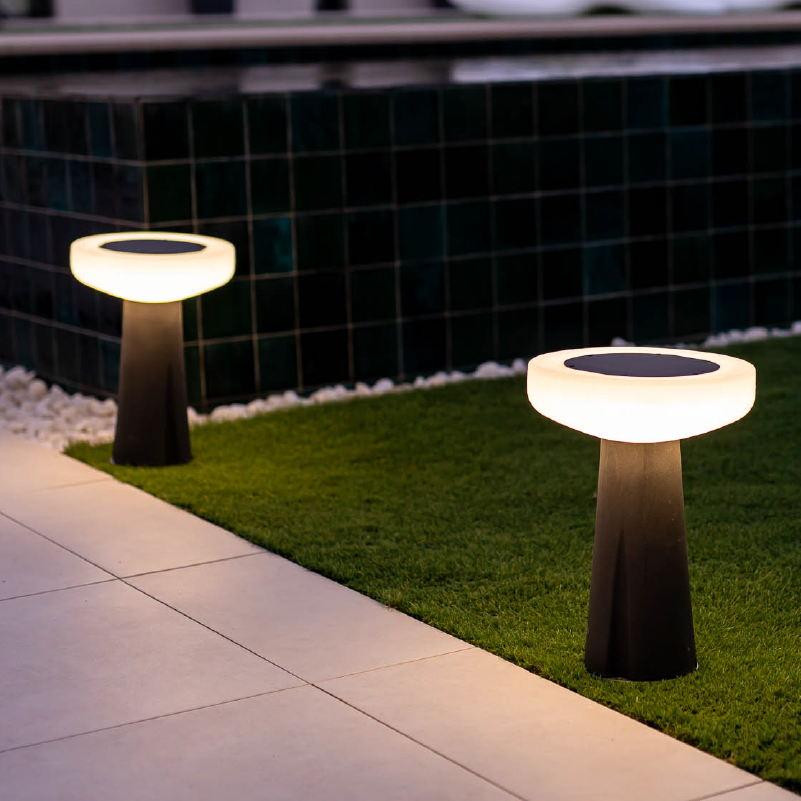 lampe led solaire sans fil rechargeable paquita 40 vendue sur deco-lumineuse.fr