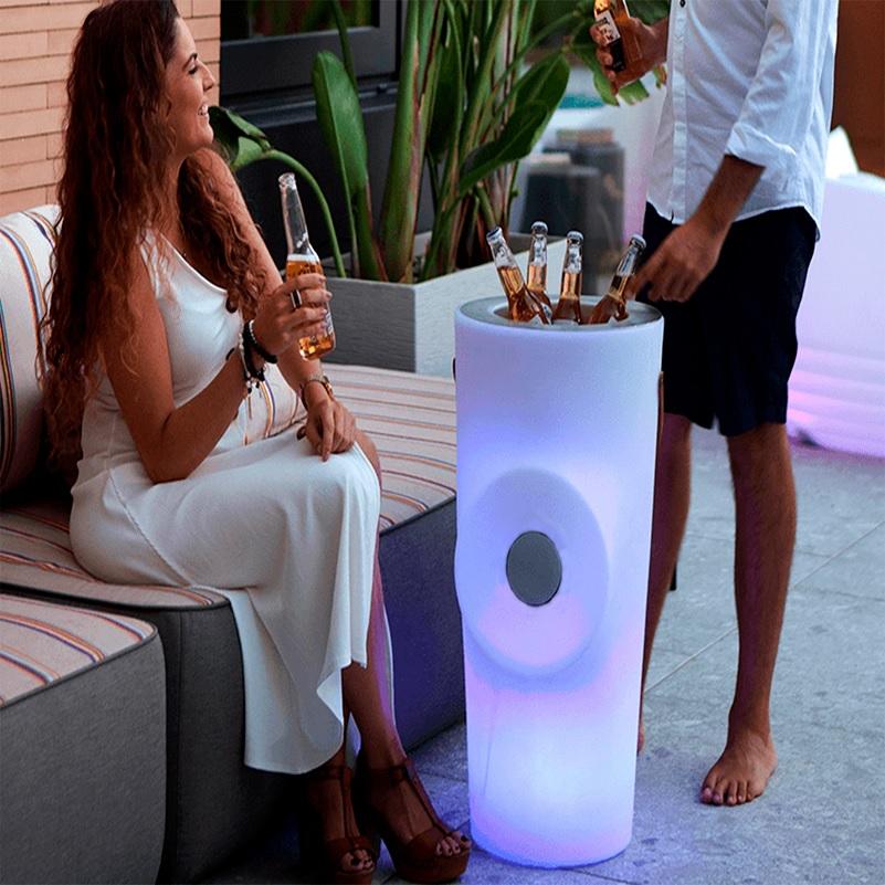 seau a champagne lumineux connecte woody vendu sur deco-lumineuse.fr