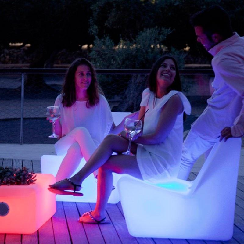 fauteuil led extérieur sans fil solaire tarido vendu sur deco-lumineuse.fr