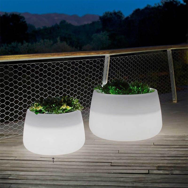 pot lumineux led de jardin amelia 60 vendu sur deco-lumineuse.fr