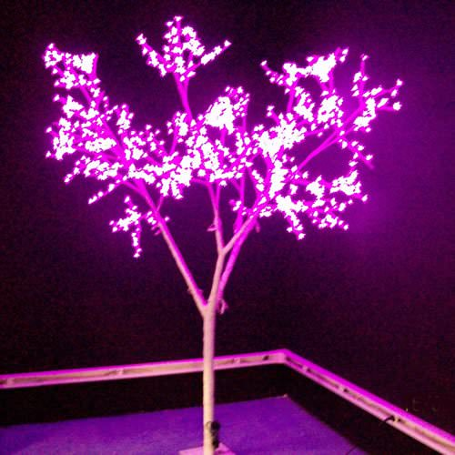 Arbre cerisier lumineux led 2m70 deco lumineuse - Arbre led exterieur ...