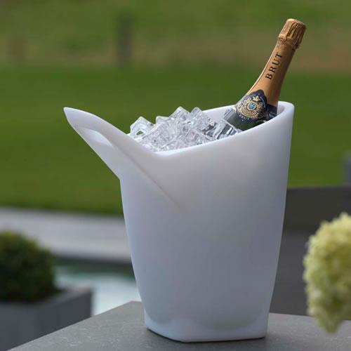 Seau champagne lumineux led viggo deco lumineuse - Seau a glace lumineux ...