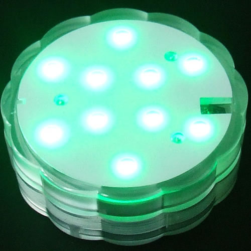 base lumineuse led submersible rvb deco lumineuse. Black Bedroom Furniture Sets. Home Design Ideas