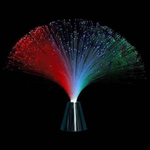 Centre de table lumineux led fibre optique deco lumineuse for Plafond lumineux fibre optique