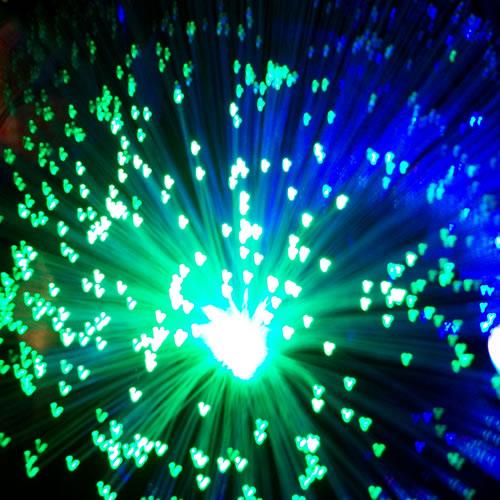 Fibre Optique Decoration Lumineuse : Centre de table lumineux led fibre optique deco lumineuse
