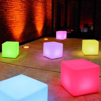 Cube Lumineux Led Sans Fil Nirvana CmDeco Lumineuse