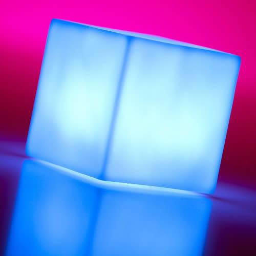 mini cube lumineux led multicouleurs deco lumineuse. Black Bedroom Furniture Sets. Home Design Ideas