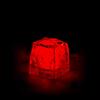 GLAÇON LUMINEUX LED ROUGE PACK DE 24