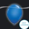 BALLON LUMINEUX LED BLEU PAR 5